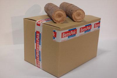 houtbriket doos